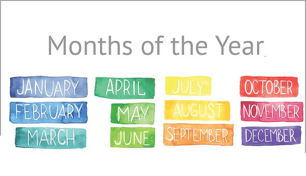 Από πού πήραν τα ονόματά τους οι 12 μήνες του χρόνου