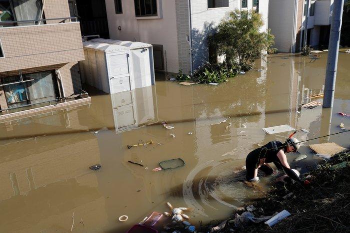 Ιαπωνία: Τουλάχιστον 23 νεκρούς άφησε πίσω του ο τυφώνας Χαγκίμπις