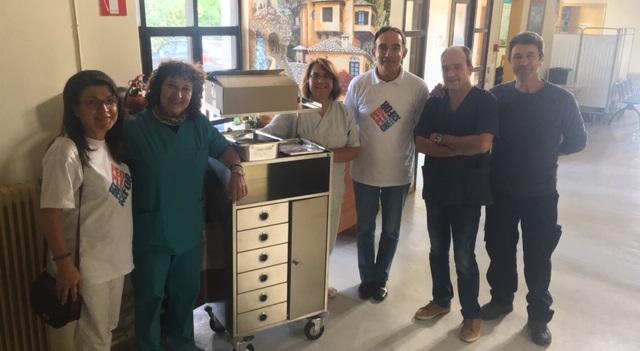 Ιατρικό υλικό στο Κέντρο Υγείας Αργαλαστής δώρισαν ομογενείς