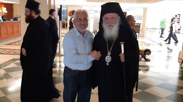 Στη χειροτονία του νέου Επισκόπου Ωρεών ο Ν. Ντίτορας