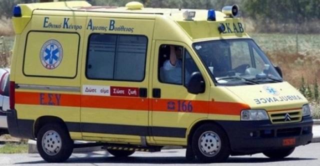 Σοβαρά τραυματισμένος στο Νοσοκομείο Λάρισας άντρας μετά από πτώση
