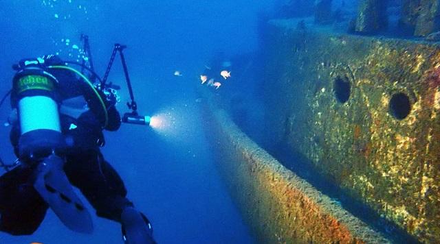 Εξόρμηση ερευνητών στο ναυάγιο στον Πάνορμο Σκοπέλου