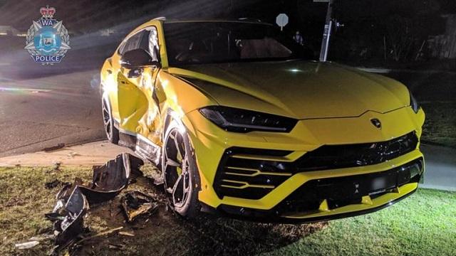 14χρονος Αυστραλός διέλυσε μια Lamborghini Urus με κλεμμένο όχημα [εικόνες]
