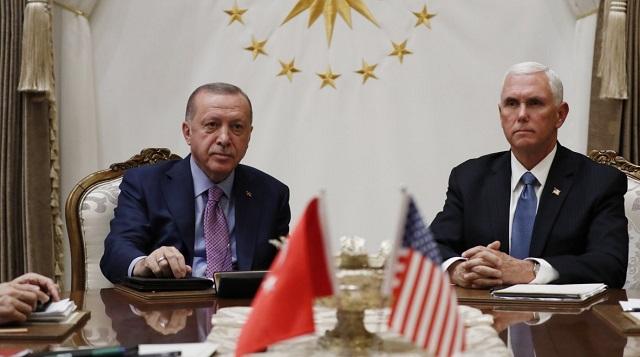Συμφωνία ΗΠΑ-Τουρκίας για κατάπαυση πυρός στη Συρία
