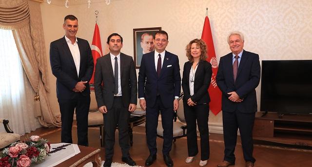 Συνάντηση του Δημάρχου Σκιάθου με τον Δήμαρχο Κωνσταντινούπολης