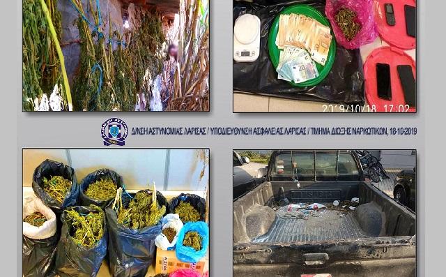 Συλλήψεις στη Λάρισα για διακίνηση ναρκωτικών