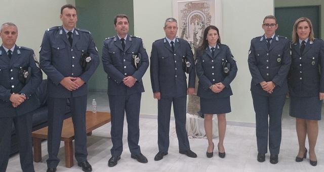 Τιμήθηκαν 11 αστυνομικοί της Μαγνησίας