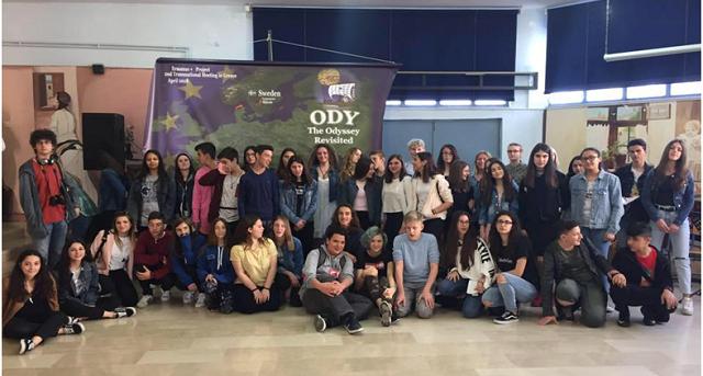 Διάκριση του Γυμνασίου Στεφανοβικείου σε πρόγραμμα Erasmus Plus