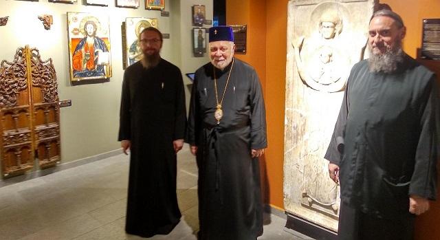 Στο Βυζαντινό Μουσείο Μακρινίτσας ο Μητροπολίτης Ταλλίνης