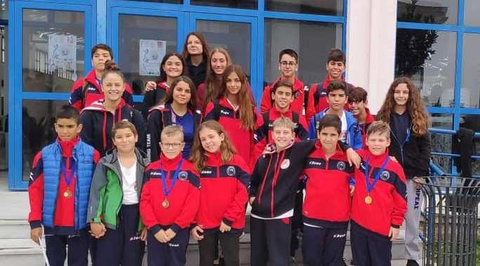 Σάρωσε τα μετάλλια ο Ολυμπιακός Β. στην Ορεστιάδα
