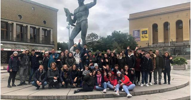 Μαθητές του Γυμνασίου Στεφανοβικείου στην Σουηδία