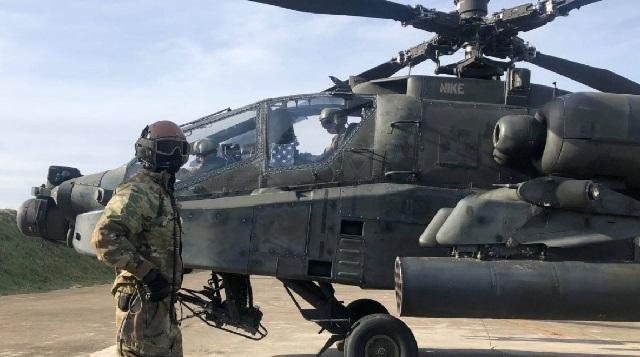Προσγειώθηκε η 3η Αεροπορική Ταξιαρχία στο πλαίσιο της αμυντικής συμφωνίας