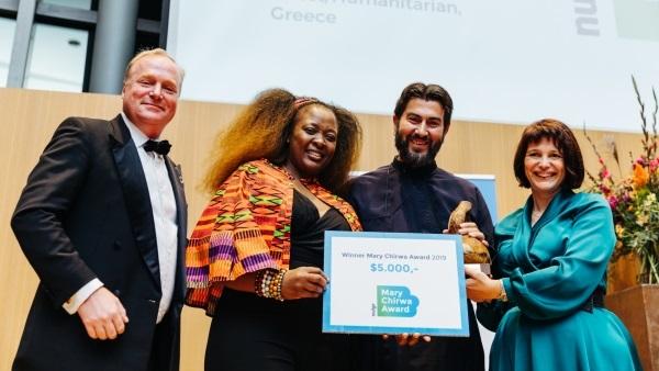 Ενα ακόμη σημαντικό Διεθνές Βραβείο στον π. Αντώνιο της Κιβωτού