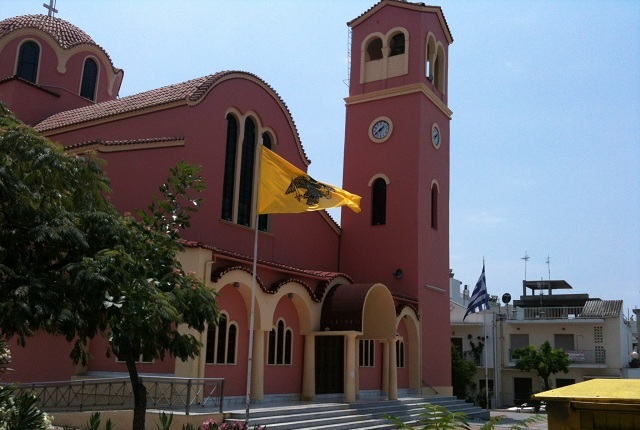 Πανηγυρίζει ο Ναός του Αγίου Δημητρίου Βόλου