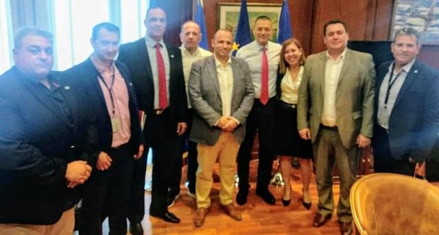 Συνάντηση με τον υφ. Εθνικής Αμυνας είχε η Ενωση Στρατιωτικών Θεσσαλίας