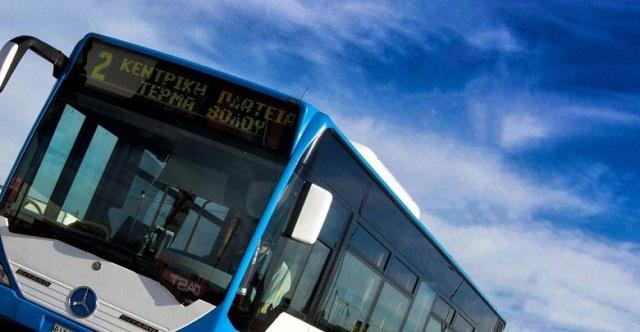 Αναστάτωση σε αστικό λεωφορείο στη Λάρισα με τραυματισμό γυναίκας