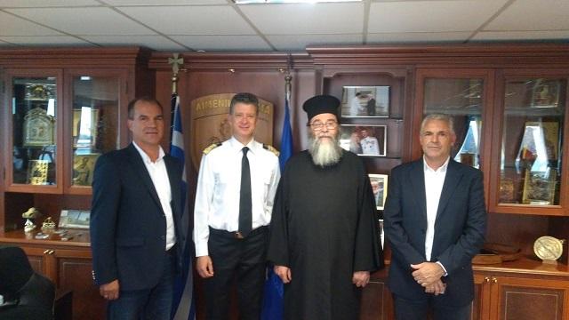 Το Λιμενικό Σώμα τίμησε κληρικό της Μητρόπολης Δημητριάδος