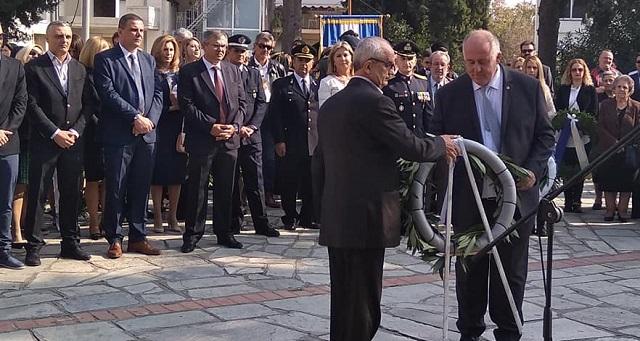 Με λαμπρότητα ο εορτασμός της επετείου του «ΟΧΙ» στο Βελεστίνο