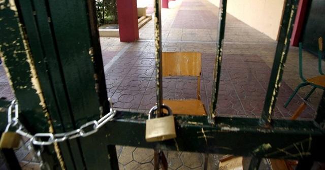 Οι πυροσβέστες ξεκλείδωσαν σχολείο του Βόλου