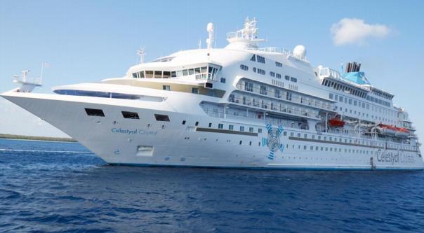 Στον Βόλο αύριο το κρουαζιερόπλοιο «Celestyal Crystal»