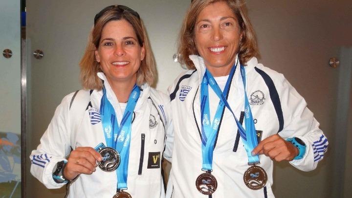 Επιστροφή με μετάλλια για τις Βολιώτισσες, Τσαούτου και Τσίρου από το παγκόσμιο SUP
