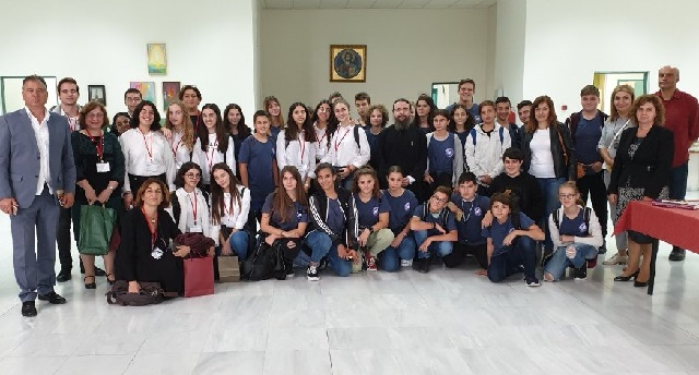 Κύπριοι μαθητές στο Βυζαντινό Μουσείο Μακρινίτσας
