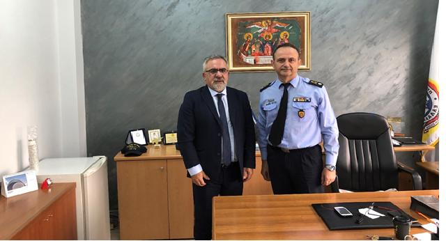Συμφωνία συνεργασίας της ΕΔΑ ΘΕΣΣ με την Πυροσβεστική