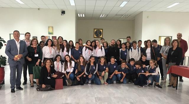 Ολοκληρώθηκε η φιλοξενία Κυπρίων από το 1ο Γυμνάσιο Βόλου