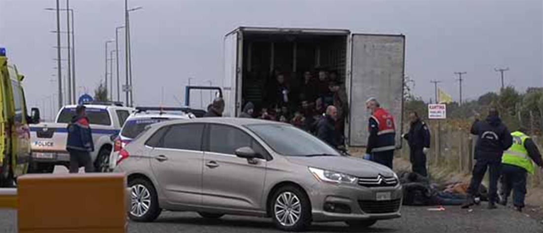 """Ξάνθη: η """"ταρίφα"""" που πλήρωσαν οι μετανάστες για να στοιβαχτούν στο φορτηγό - ψυγείο"""