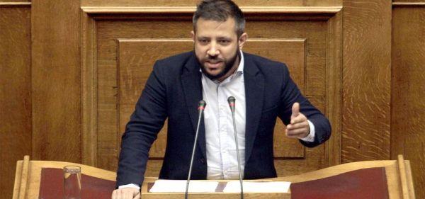 Τη διαγραφή των οφειλών από τέλη ταξινόμησης ζητεί ο Αλ. Μεϊκόπουλος