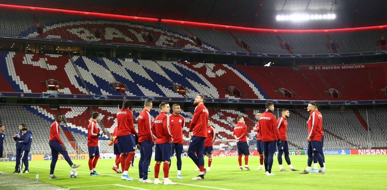 Champions League: Αγώνας μέγιστης δυσκολίας για τον Ολυμπιακό στο Μόναχο