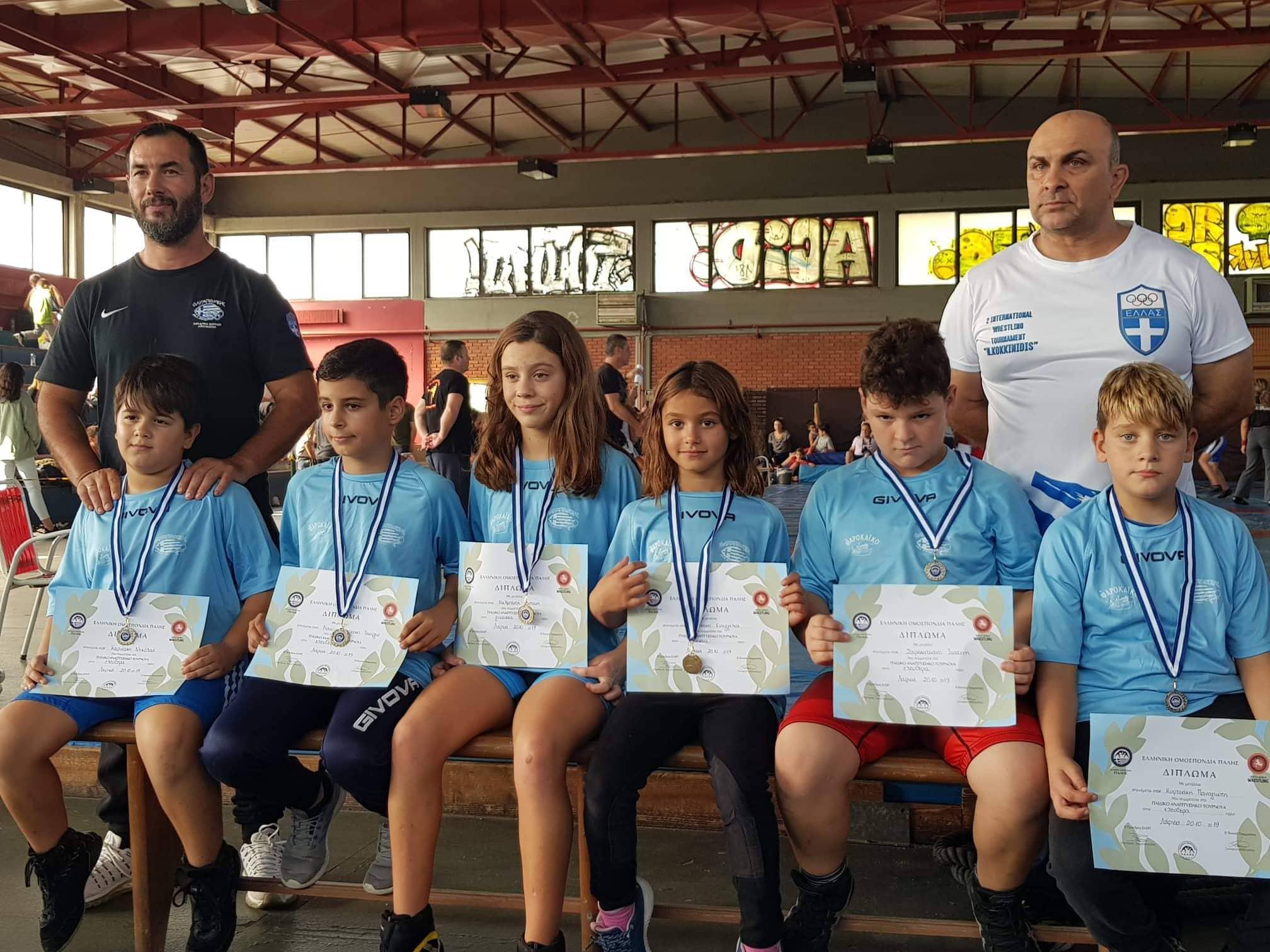 Επέστρεψαν με επτά μετάλλια  οι αθλητές του Ολυμπιονίκη