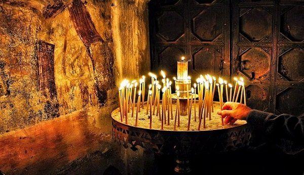 Πανηγυρική θεία Λειτουργία στον Ιερό Ναό Αγ. Γεωργίου Παλαιομύλου Φαρσάλων