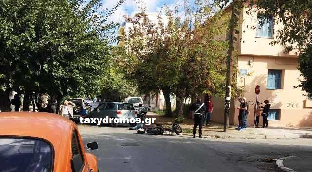 Τροχαίο με τραυματισμό στην Περραιβού με Αλεξάνδρας