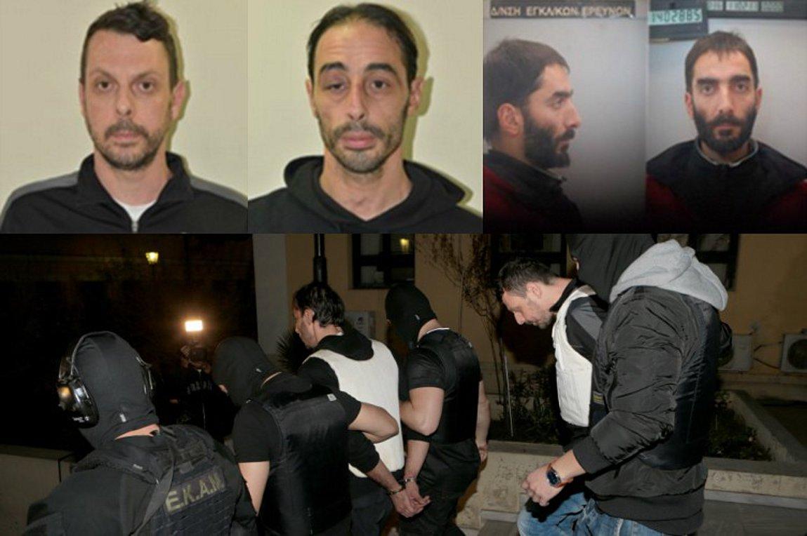 Αυτοί είναι οι συλληφθέντες & ο καταζητούμενος για συμμετοχή στην «Επαναστατική Αυτοάμυνα»