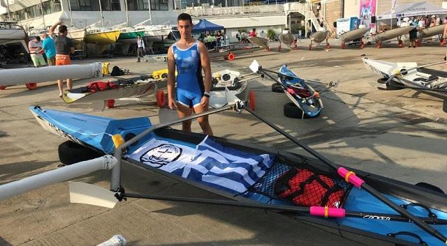Αθλητής από τη Νέα Ιωνία στο Παγκόσμιο Κωπηλασίας