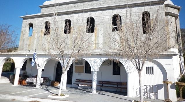 Υποδοχή ιερών λειψάνων στην Αγία Κυριακή Βόλου