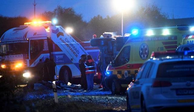 Σλοβακία: Τουλάχιστον 12 νεκροί και 20 τραυματίες στον «δρόμο του θανάτου»