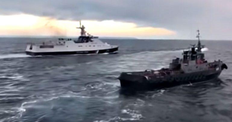 Αύριο η Ρωσία παραδίδει στην Ουκρανία τα τρία πολεμικά πλοία -Τα είχε κατασχέσει το 2018
