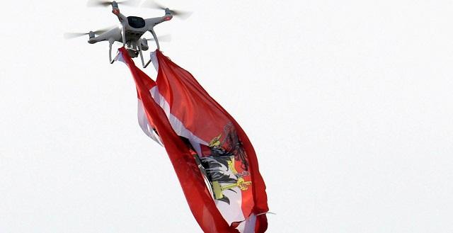 Σήκωσαν drone στο γήπεδο της Νεάπολης και τιμωρήθηκαν με σύλληψη