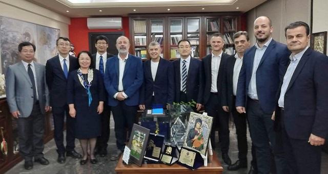 Έρευνα, καινοτομία και πολιτισμός τα νέα πεδία συνεργασίας Θεσσαλίας και Κίνας