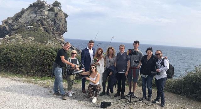 Γυρίσματα σειράς στη Σκόπελο για αμερικανικό συνδρομητικό κανάλι
