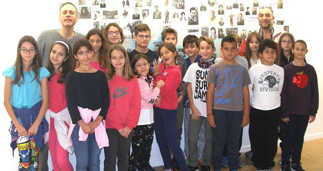 Επίσκεψη του Ε2 τμήματος του 22ου Δημοτικού Σχολείου Βόλου στο Μουσείο Πόλης