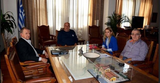 Συνάντηση της νέας Διοίκησης του ΟΛΒ με τον Δήμαρχο Βόλου