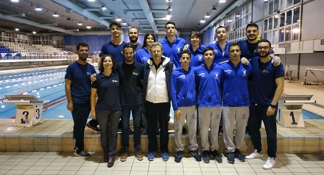 Κολυμβητές της Νίκης σε πρόγραμμα της ΚΟΕ