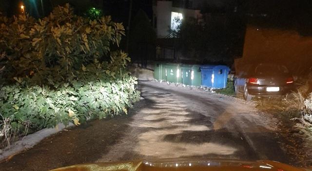 Δρόμος στο Διμήνι μετατράπηκε σε… τσουλήθρα
