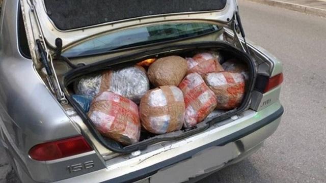 Ιωάννινα: Σύλληψη αλλοδαπού με 100 κιλά χασίς