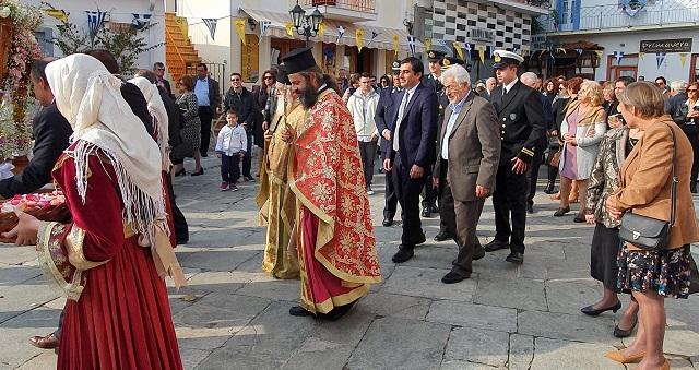Στη Σκιάθο για τη γιορτή της Παναγίας Εικονίστριας ο Ν. Ντίτορας
