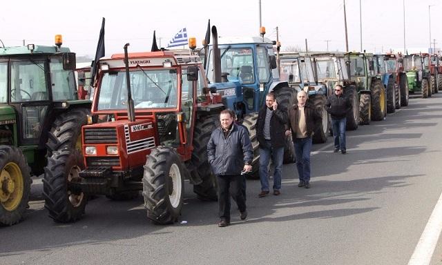 Διαμαρτυρία αγροτών της Μαγνησίας για τις εισφορές
