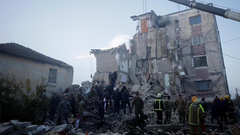 6,4 Ρίχτερ στην Αλβανία: Πέντε νεκροί & δεκάδες τραυματίες